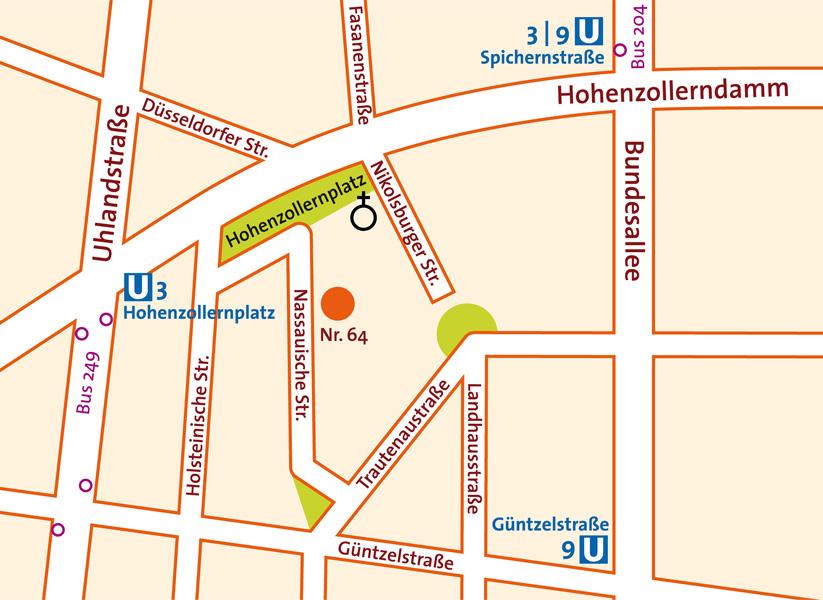 Frauenarztpraxis Nassauische Strasse Berlin